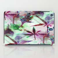 northern lights iPad Cases featuring Northern Lights by Cannabis Color Art