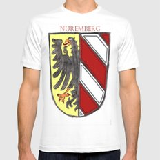 Nuremberger Wappen Mens Fitted Tee MEDIUM White
