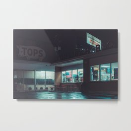 Tops Memphis Photo Print Metal Print