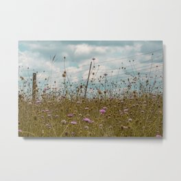 Wildflowers pt.2 Metal Print