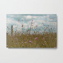 Wildflowers pt.2 Metal Print