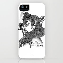 The Fearless Shiva iPhone Case