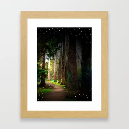 Magical Irish Forest Photography Children Fairy Tale Nursery Home Decor Print Framed Art Print