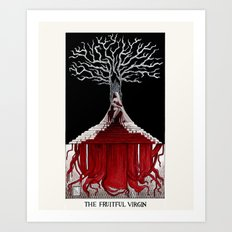 The Fruitful Virgin Art Print