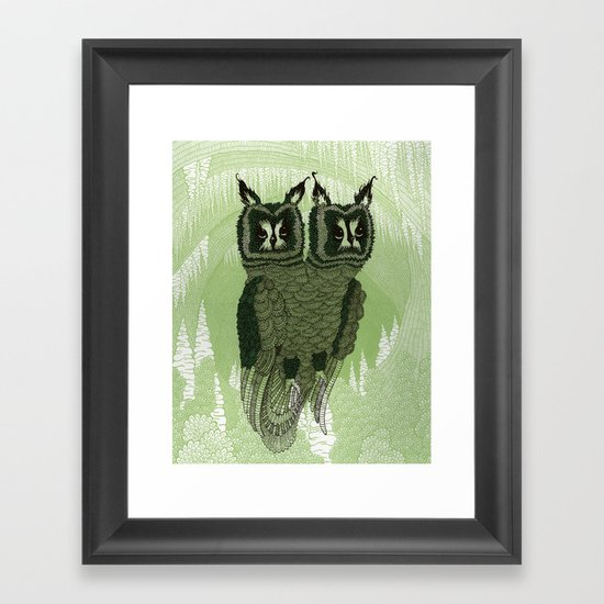 Owls Framed Art Print