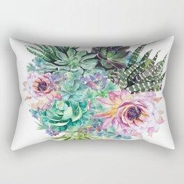 Succulent Bouquet Rectangular Pillow