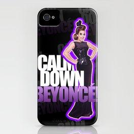 CALM DOWN, BIANCA! iPhone Case