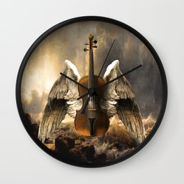 Celestial Music Wall Clock