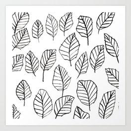 leaflines Art Print