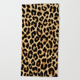 ReAL LeOparD Beach Towel