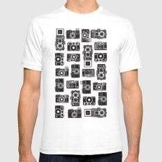 Yashica bundle Camera White Mens Fitted Tee MEDIUM
