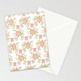 Spring Pennants Stationery Cards