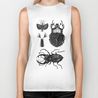 insects Biker Tanks featuring Insects by Rebexi