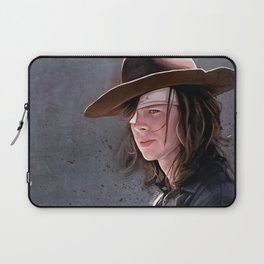 Carl Grimes Before The Fall - The Walking Dead Laptop Sleeve