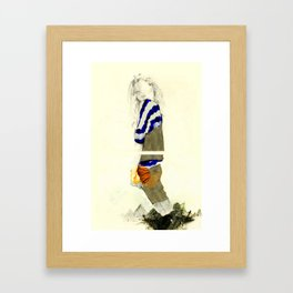 """""""I'm So Sorry For The Noose I left You With"""" Framed Art Print"""