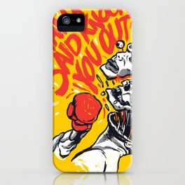 Knockout Punch iPhone Case