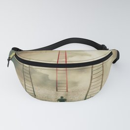 Choosing a different stairway Fanny Pack