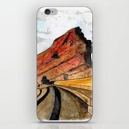 Red Rocks 2016 iPhone Skin