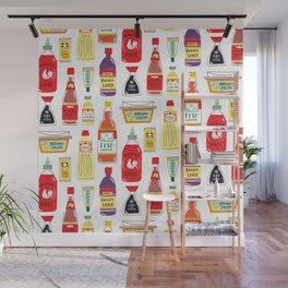 Asian Seasonings Wall Mural