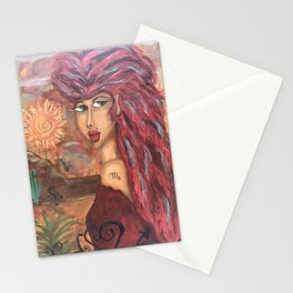 Warrior Strength Stationery Cards