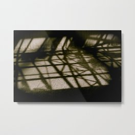 X and Y and Z Metal Print