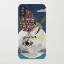 Flying Bicycle iPhone Case