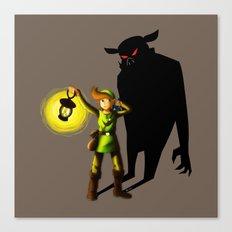 The Hero's Lantern Canvas Print