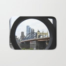 The Smithfield Bridge- Pittsburgh Bath Mat