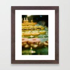 i like donut Framed Art Print