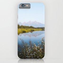 Grand Teton Reflection iPhone Case