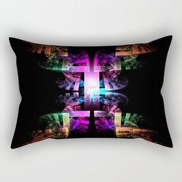 Build the Rainbow Rectangular Pillow