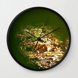 November Wall Clock
