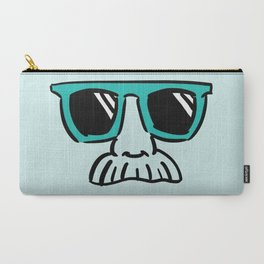 Too Cool (green cyan) Carry-All Pouch