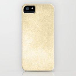 Simply Antique Linen Paper iPhone Case