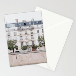 Seine River - Paris France, Architecture, Travel Photography Stationery Cards