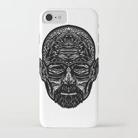 walter white iPhone & iPod Cases featuring Walter White by Jamie Bryan