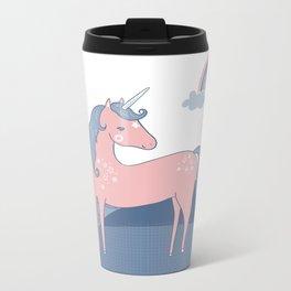 Unicorn hills Metal Travel Mug