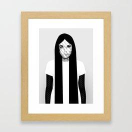 'K' Framed Art Print