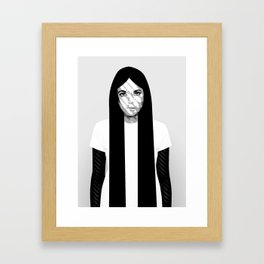 'K' Framed Art Print