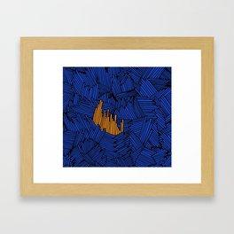 Happy Abstract Nr:01 Framed Art Print