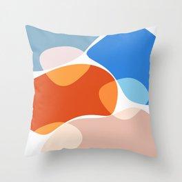 Modern minimal forms 36 Throw Pillow