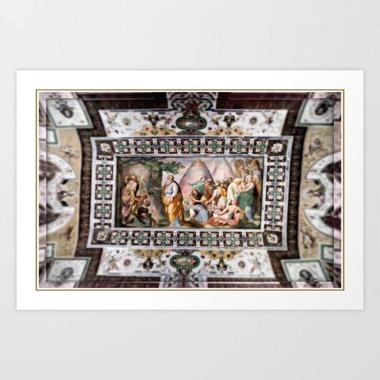 The Italian Ceiling Art Print