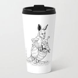 Boxing Kangaroo Travel Mug