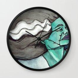 Bride of Frankenstein II Wall Clock