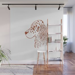 English Setter (White and Brown) Wall Mural