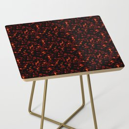 Dark Tortoiseshell Side Table