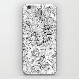 Fragments of dream iPhone Skin