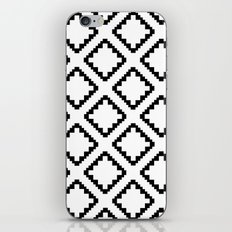 Geometric Squares Diamond Pattern iPhone & iPod Skin