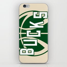 Bucks creme iPhone Skin