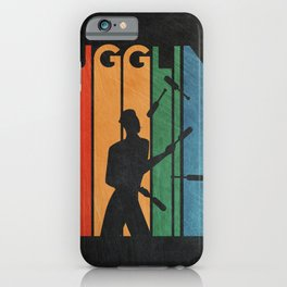 Juggling Circus Gift Idea iPhone Case